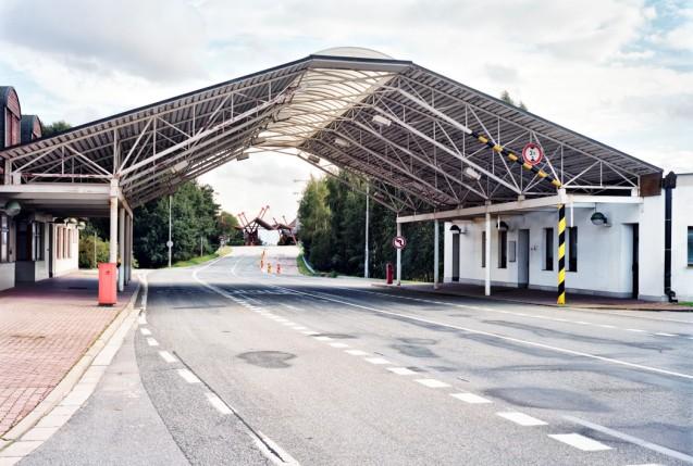 The Slavonice-Fratres border crossing from 'After Schengen' by Ignacio Evangelista.