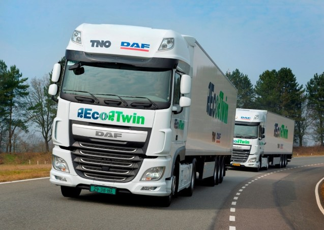 Photo via the European Truck Platooning Challenge.