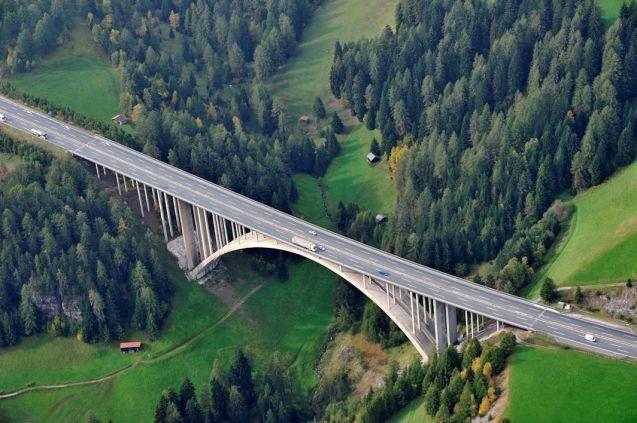 The A12 near Innsbruck. Photo ASFINAG