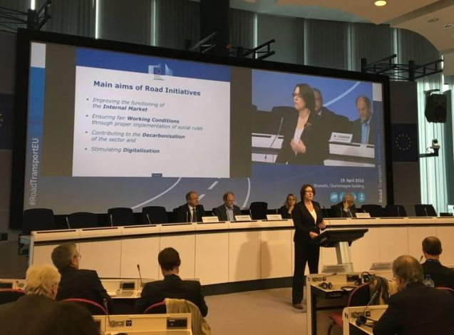 European Commission Transport Commissioner Violeta Bulc. Photo @Bulc_EU