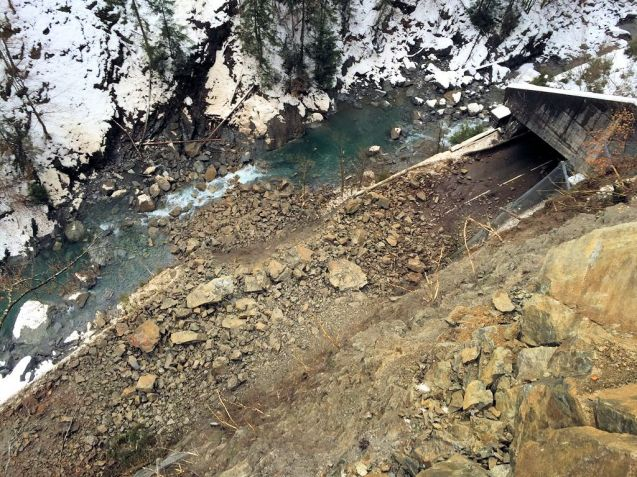 The Gorges de l'Arly should reopen today but Grenoble-Briancon is still closed. More later.