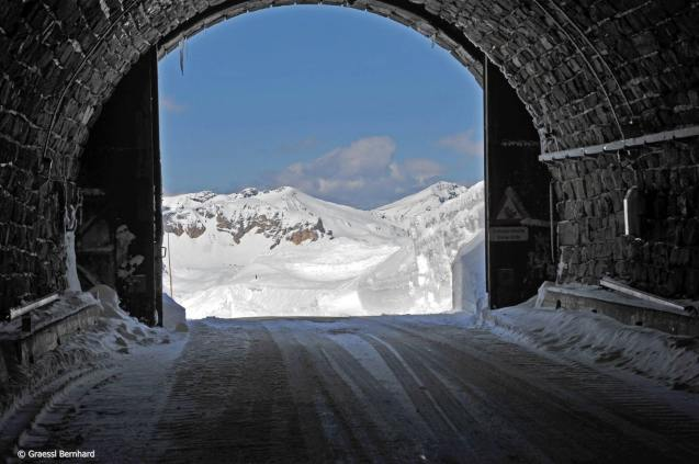 Austria's Grossglockner Hochalpenstrasse finally opened today, almost a week later than expected following heavy spring snow. However, there is a catch. The road is only passable between Fusch/ Ferleiten and Heiligenblut, north and south of the pass, with snow chains, and even then only to cars and buses. Since Grossglockner tops out at 2504m (8215ft) – and it's quite foggy today according to the webcams – we'd be happy to sit it out until the weather clears a bit. Tickets start at €35 per car. See more at Grossglockner.at