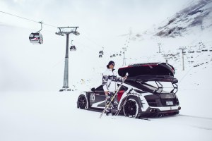 A Gumball 3000 stalwart has cried off this year citing the drinking and the route. Speaking on his YouTube channel, the Swedish freestyle ski entrepreneur Jon Olsson - who normally takes part in an array of lary Audis, or his Rebellion R2K – says he has already visited many of the places on this year's rally and has been on a health kick since last summer… meanwhile, the Gumball 3000 cars departed Dublin yesterday afternoon on the first leg of this year's event, to Edinburgh. From there they call in at a further nine control points or overnight stops on their way across the Continent - via Luxembourg, Germany, Czech Republic and Hungary – before the finish in Bucharest on Friday 6 May marked, of course, with a huge party. Drivers are free to pick their own route between stops. Follow live tracking here, or see more at Gumball3000.com. Photo Jon-Olsson.com